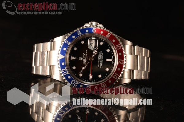 Rolex GMT-Master II Vintage Red/Blue Bezel Automatic (Correct Hand Stack) 16710