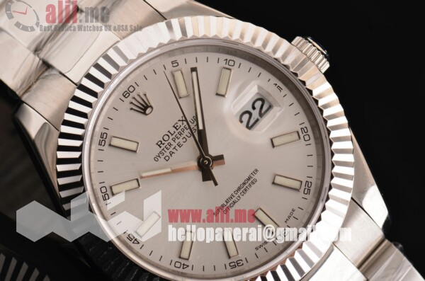 Rolex Datejust II White Dial Stainless Steel Case Stainless Steel Bracelet Top Quality