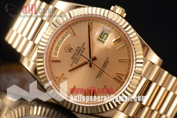 Rolex Day Date II Yellow Gold Dial 1:1 clone Full Yellow Gold (BP)